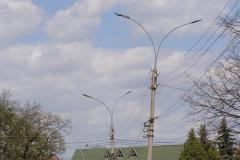 Вуличне освітлення смт. Вигода